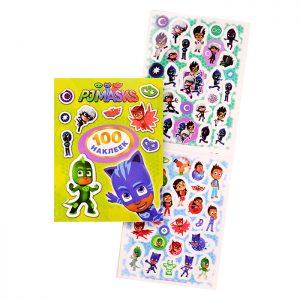 Герои в масках. 100 наклеек (зеленый)
