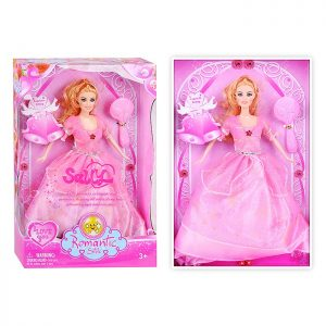 Кукла 3334-1 с аксессуарами, в коробке