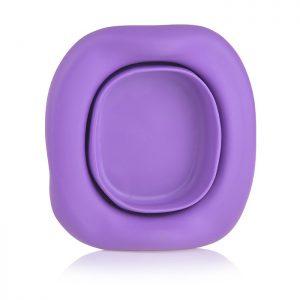 Универсальная вкладка для дорожных горшков. Цвет фиолетовый.