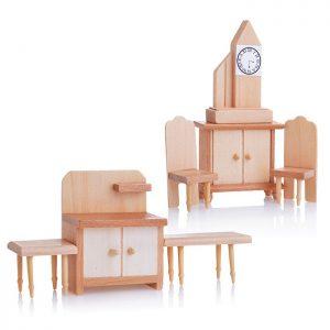 Набор мебели D0293-3 для кукол, на листе