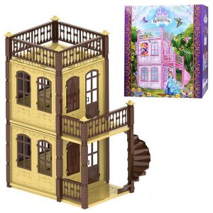 Домик для кукол Замок принцессы (2 этажа)
