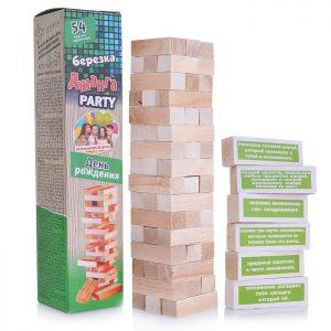 Настольная игра Джанга PARTY (БЕРЕЗКА) День рождения
