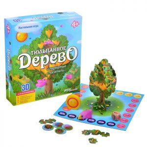 3 D- игра Тюльпанное дерево