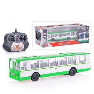 Автобус р/у (свет+звук, открыв. двери) в коробке