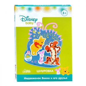Шнуровка для малышей Медвежонок Винни и его друзья Дисней