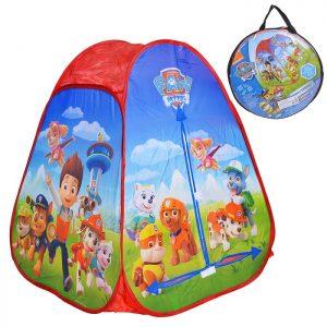 Палатка Щенячий патруль в сумке