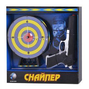 Набор тир Снайпер HZ-H8 музыкальный в коробке, на батарейках
