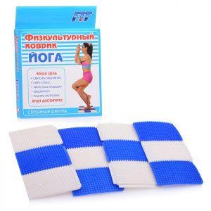 Физкультурный коврик Йога (в коробке)