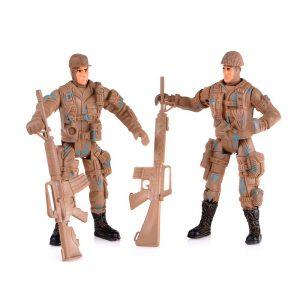 Набор солдатиков 21806 в пакете