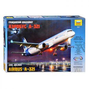 Гражданский авиалайнер Аэробус А-321