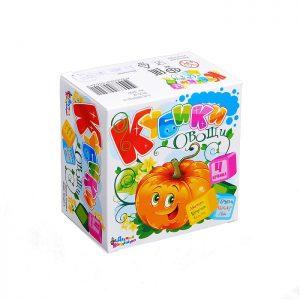 Кубики Овощи (4)
