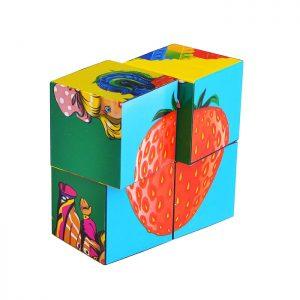 Кубики пластиковые Любимые кубики (4шт.)
