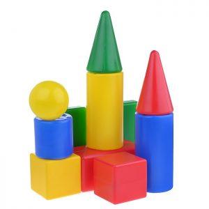 Набор геометрических фигур ( 11 элементов)