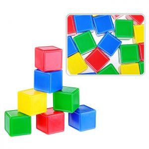 Набор кубиков с борт. 20 эл.