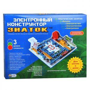 Электронный конструктор ЗНАТОК 999 схем+Школа