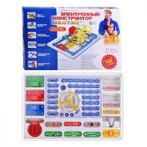 Электронный конструктор ЗНАТОК 180 схем
