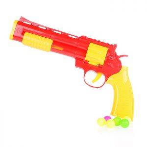 Пистолет 1203А с шариками, в пакете