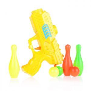 Пистолет 9170-4 с шариками, в пакете