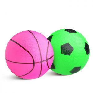 Набор мячей 5043 (футбол., баскетбол.)