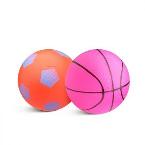 Набор мячей 5044 (футбол., баскетбол.)