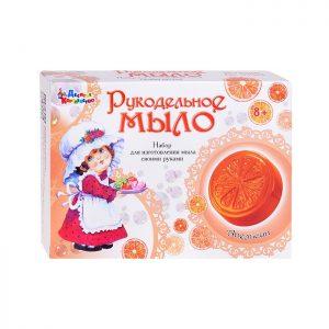 Набор для изготовления мыла. Рукодельное мыло Апельсин