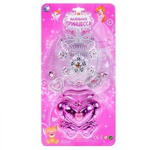 Набор украшений 816 Маленькая принцесса на листе