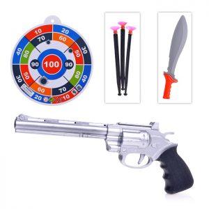 Набор 6588-18 Пистолет и меч в пакете