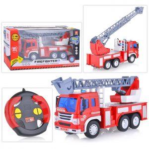 Машина WY996 Пожарная р/у 27MHz, 1:16, в коробке