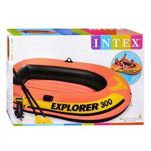 Надувная лодка Explorer Pro 300, 211*117*41см.