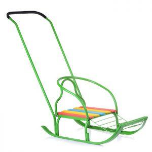 Санки Вятка-4 зеленые