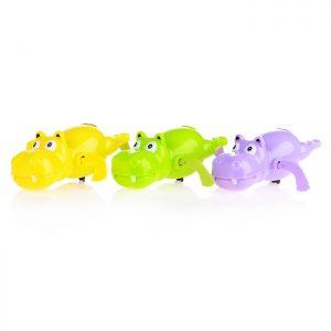 Заводная игрушка 557 Бегемотик в пакете