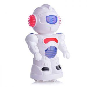 Заводная игрушка 6668-21 Робот со светом, в пакете