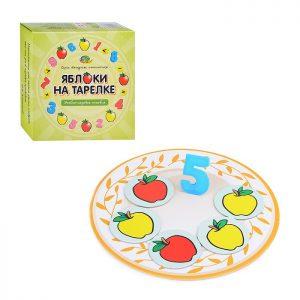 Яблоки на тарелке (серия Нескучная математика)