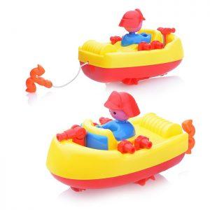 Заводная игрушка 2061C Лодка в пакете