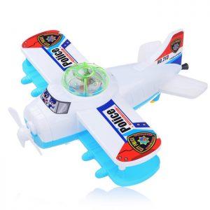 Заводная игрушка 213 Самолет в пакете