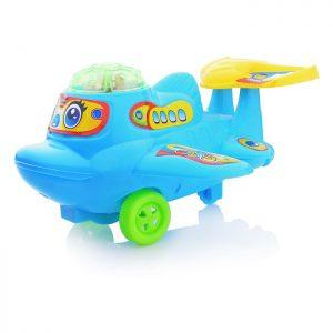 Заводная игрушка 212 Самолет в пакете