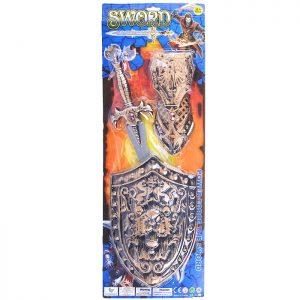 Набор рыцаря 114-3 на листе