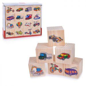 Набор кубиков Транспорт 16 шт.