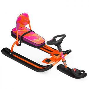 Снегокат Тимка спорт 4-1 Nika kids colors (оранжевый каркас)