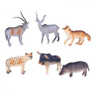 Дикие животные Леса 6 асс пакет с хедером