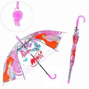 Зонт прозрачный Winx, 50см в пак