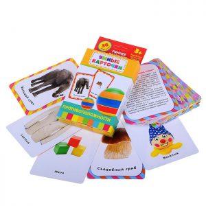 Противоположности (Развивающие карточки 3+)