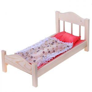 Кроватка для кукол №16