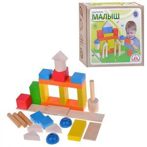 Набор строительных деталей Малыш