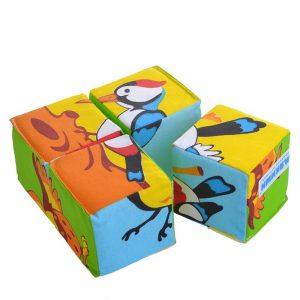 Игрушка кубики Собери картинку(Птицы)