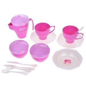 Набор чайной посуды Барби(18 пред.) в пакете