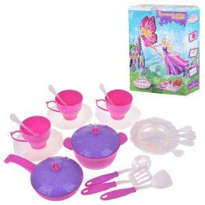 Набор чайной посуды Барби (25 пред.) в коробке