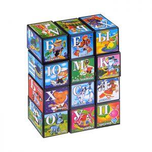 Кубики Азбука со сказками (12)