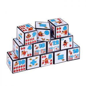 Кубики Математика с рисунками