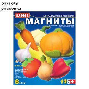 Фигурки на магнитах Овощи